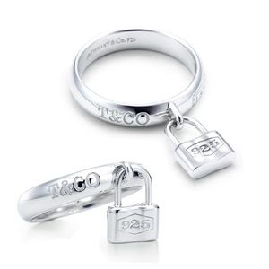 Tiffany & Co. Dangle Lock Ring